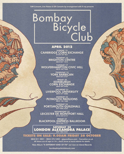Bombay Bicycle Club Tour Dates 2012 Announced