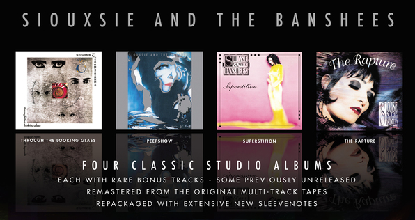 New batch of Siouxsie & The Banshees remasters out at the end of October