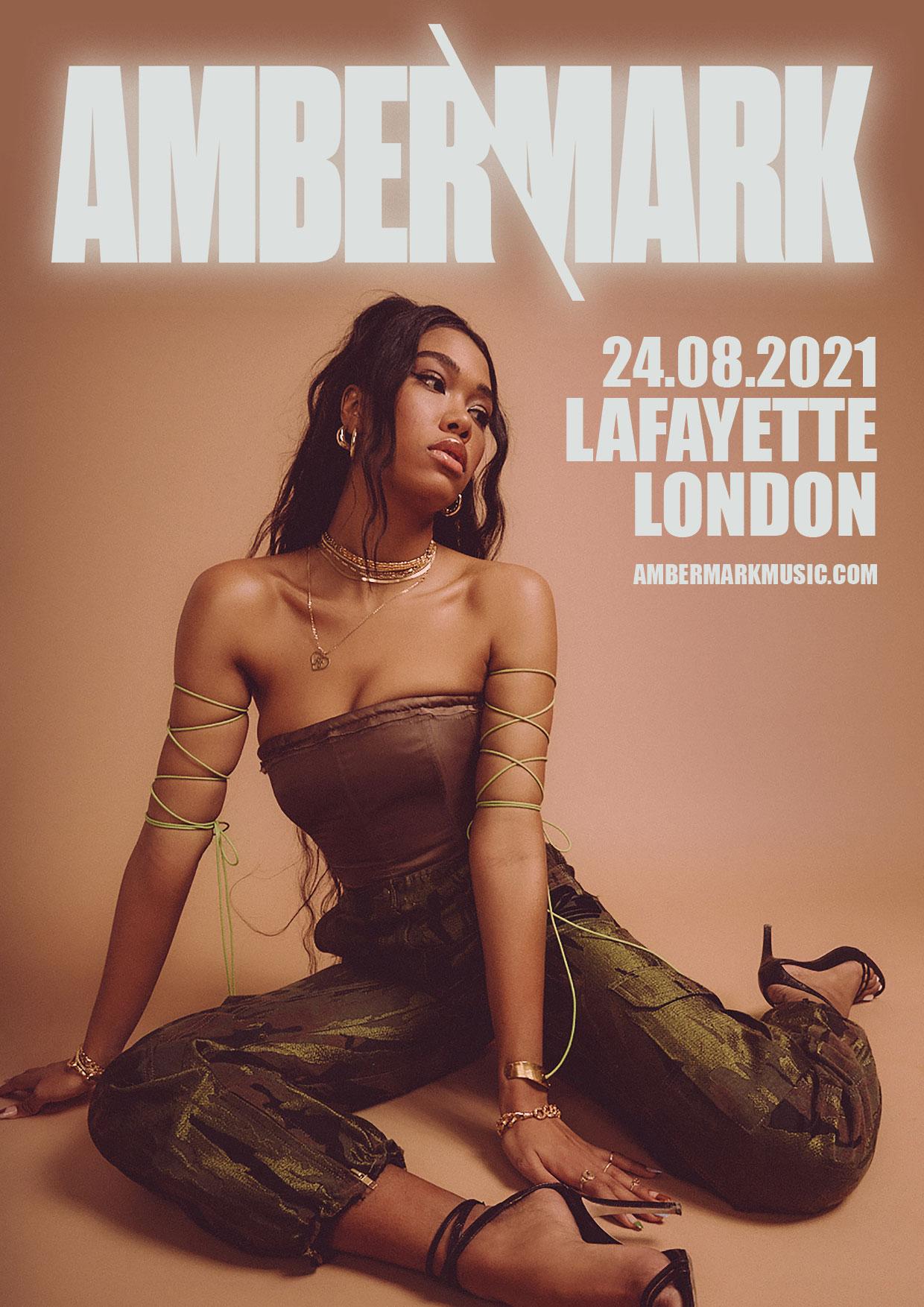 Amber Mark 24.08.2021 Lafeyette London